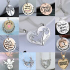Chic Arrival Puzzle Heart Angel Gold/Silver Stylish Necklace Pendant Chain Jewel