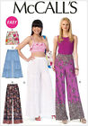 McCall's 7164 Paper Sewing Pattern to MAKE Shorts & Wide Leg Trousers