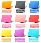 Hard Rubberized Case + Keyboard Cover for Mac Macbook Air 13 13.3 A1369 A1466