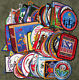 Lot of 100 Different Boy Scouts of America BSA Patches