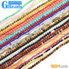 2mm 3mm 4mm Round Gemstone Tiny Jewelry Making Loose Spacer Beads Strand 15""