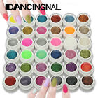 1PCS Gel UV Ongles Extension Vernis Décor Glitter Paillette 36 Couleurs Nail Art