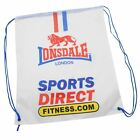 SportsDirect Fitness Gym Sack Drawstring Fastening Two Cord Straps Bag