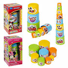 Kids Disney 8 Pc Stacking Cups Tower Beakers Pre-School Toddler Baby Toy Nesting