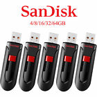 New SanDisk SDCZ60 64/32/16/8/4GB Cruzer Glide USB Flash Pen Drive Memory Stick