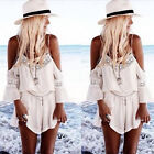 Economic Hot Women Summer Lace Chiffon Strap Backless V Neck Short Jumpsuit WBUS