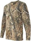 GENTS LONG SLEEVED OAK TREE CAMO HUNTING T-SHIRT Mens sizes shooting cotton top