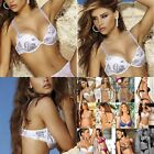 Chamela 15250 Women's Sexy Brasier Print and lace Color White Size 32 Reg.$48.85