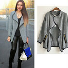 New Women Casual Knitted Cardigan Batwing Sleeve Loose Sweater Lady Jacket Coat