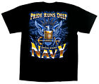 US Navy T-shirt Pride Runs Deep Military Tee