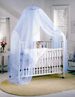 Baby Cot Bed Canopy Mosquito Net Available in White ,  Pink ,  Blue ,  Lilac