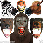 New Latex Full Head Animal Cospaly Masquerade Overhead Carnival Props Party Mask