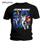 Official Unisex T Shirt STAR WARS ~ Space Montage Poster#2 All Sizes
