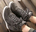 Hot HighTop Sneakers Womens Hidden Wedge Heel Lace-Up Athletic Sport Boots Shoes