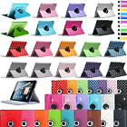Leather 360 Degree Rotating Smart Stand Case Cover For APPLE iPad 4 3 2