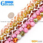 """12mm Round Faceted Gemstone Banded Football Agate Jewelry Crafts Making Beads15"""""""
