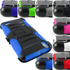 FOR HUAWEI PHONE MODELS RUGGED ARMORED HYBRID CASE COVER+CLIP HOLSTER+STYLUS