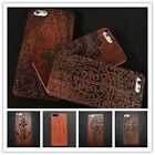 New Design Fashion Wood Phone Case Hard Back Cover  for iPhone 5S/6/6 Plus
