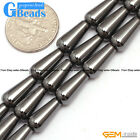 6x12mm Black Magnetic Hematite Gemstone Teardrop Loose Beads For Jewelry Making