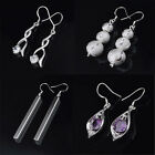 Women's Fashion Jewelry silver plated SP vintage Dangle Earrings Charming