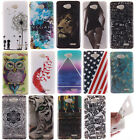 14 Design Paint TPU Silicone Rubber Skin Case Cover For LG Alcatel Wiko