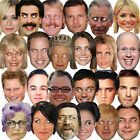5 X CELEBRITY FACE PARTY BIRTHDAY MASKS FUN STAG DO PACK MASK FANCY DRESS HEN