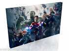 Avengers Age of Ultron * Top Quality Box Canvas Ready to Hang * A1 A2 A3