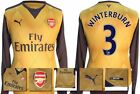 *15 / 16 - PUMA ; ARSENAL AWAY SHIRT LS / WINTERBURN 3 = SIZE*