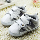 Infants Baby Boys White Casual shoes Crib shoes Soft soles Size 0-18 Months