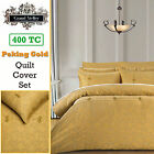 400TC Peking Gold Oriental Jacquard Quilt Cover Set by Grand Aterlier QUEEN KING