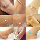 Sexy Silver Gold  Chain Anklet Bracelet Ankle Foot Jewelry Barefoot Beach Anklet