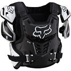 FOX RACING 2016 ADULT BLACK WHITE RAPTOR VEST PROTECTION WRAP AROUND PROTECTOR