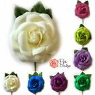 New Pretty Fabric Hair Flower Corsage - Spanish Flamenco - Choice of 14 Colours