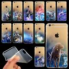 Lucky Zodiac Constellation Printed Clear Soft TPU Case Cover For iPhone 6 6 Plus