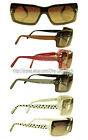 *LV* Various Colors SUNGLASSES Great For Women RECTANGULAR New! *YOU CHOOSE* 1/2