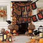 Retro HALLOWEEN SILHOUETTE String Banner PARTY DECORATION Happy Halloween