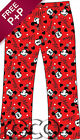 Girls Red Minnie Mouse Lounge Pants, Girls Lounge Pants
