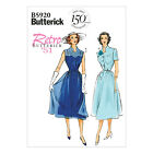 Butterick 5920 Sewing Pattern to MAKE Retro '51 Dress or Slip with Lace Overlay