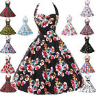 HOUSEWIFE 50s 60s DRESSES Vintage Swing Pin up ROCKABILLY Retro Party PROM Dress