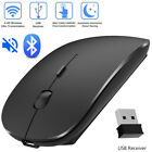 1600 Dpi Slim Wireless Bluetooth Mouse for Windows 7/8 Android Macbook Tab New