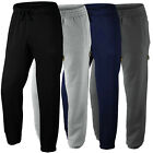 Mens Tracksuit Fleece Jogging Bottoms Size S to 5XL SPORTS WORK LEISURE / SK