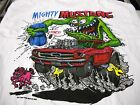 Rat Fink Mighty Mustang Ford Ed Roth t shirt S-XXX white tee