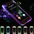 Hybrid Silicone Clear Crystal TPU Bumper Case Cover For iPhone 5 5S 6 6 Plus New