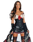 Jonah Hex Movie Sexy Black Lilah Dress Adult Womens Halloween Costume XS-L