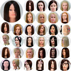 All Style Salon School Use Makeup Practice, Cut Training Head Mannequin + Clamp