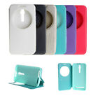 """PU Leather View Window Stand Flip Case Cover For Asus Zenfone 2 ZE551ML 5.5"""""""
