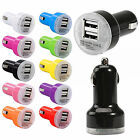 Dual 2.1A 2 Port USB Car Charger Adapter For iPhone 5 6 6s Samsung Universal lot