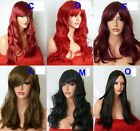 Blonde Black Brown Long Fashion Natural Wig FULL WOMEN LADIES HAIR WIG
