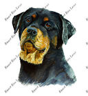 Rottweiler Dog Lover Home Office Room Den Camp Decor Decal Wall Art Gift Unique