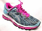 Asics Gel-Kayano 22 Lite-Show Running Shoes Womens Aqua Splash/Silver/Pink Glow